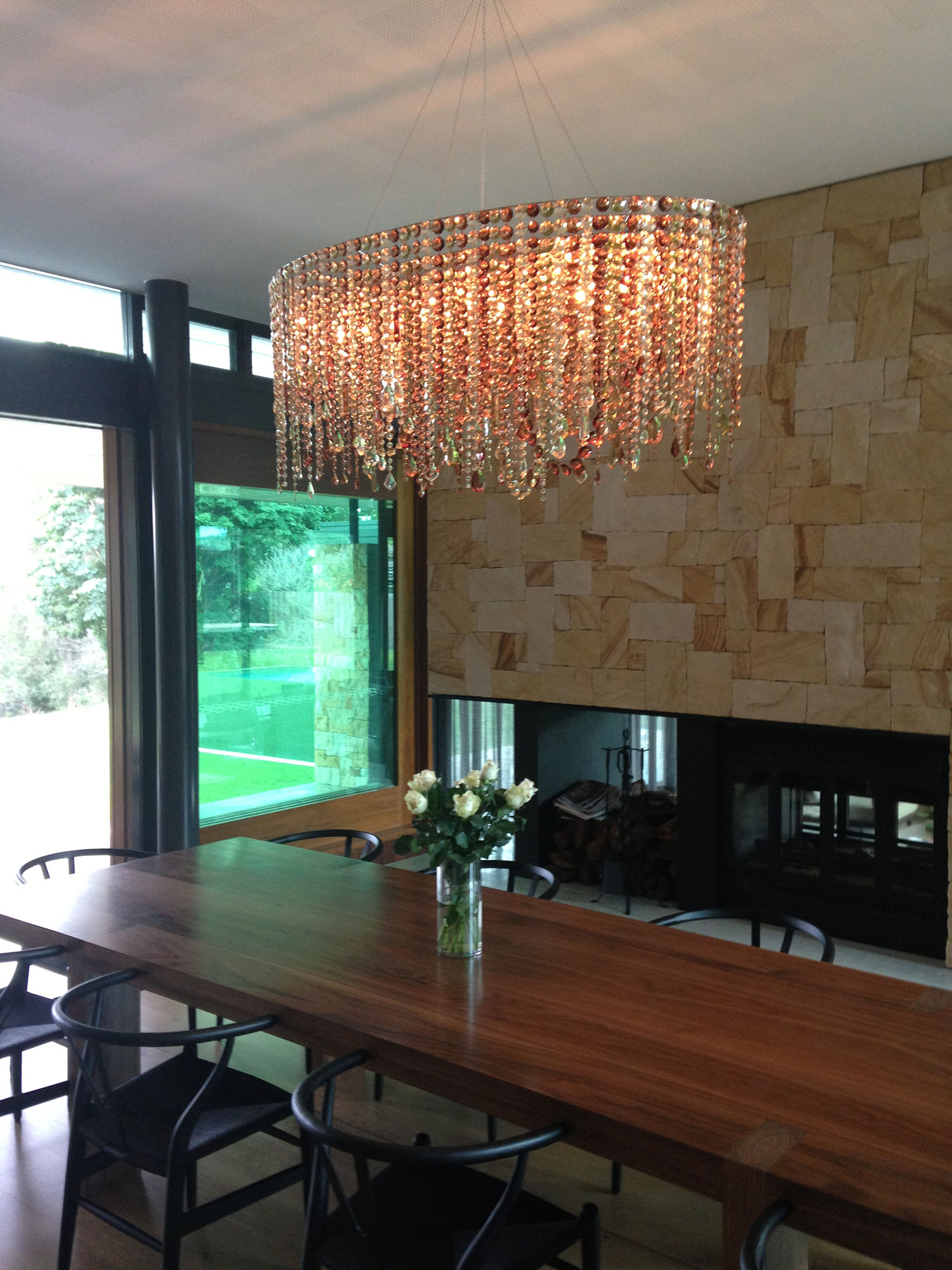 Crystal chandeliers lolli e memmoli projects residentials zzk australia residence malvernweather Images