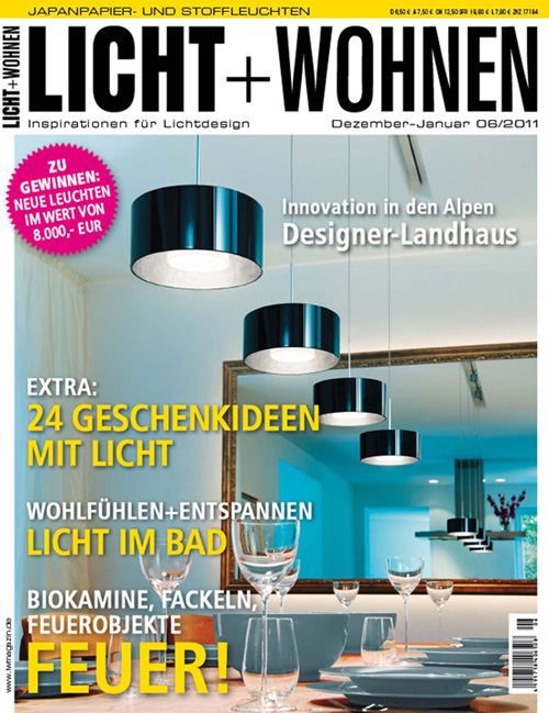 crystal chandeliers lolli e memmoli magazines 12 licht wohnen. Black Bedroom Furniture Sets. Home Design Ideas